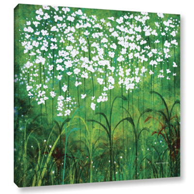 Brushstone Spring Garden Gallery Wrapped Canvas Wall Art