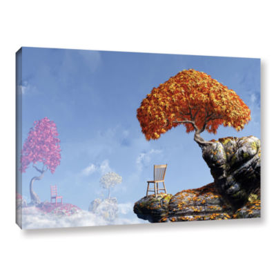 Brushstone Leaf Peepers Gallery Wrapped Canvas Wall Art