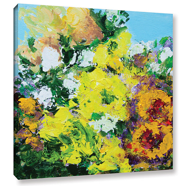 Brushstone Alnwick Garden Gallery Wrapped Canvas Wall Art