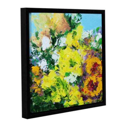 Brushstone Alnwick Garden Gallery Wrapped Framed Canvas Wall Art