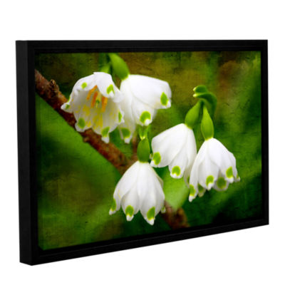 Brushstone Spring Reunion Gallery Wrapped Floater-Framed Canvas Wall Art