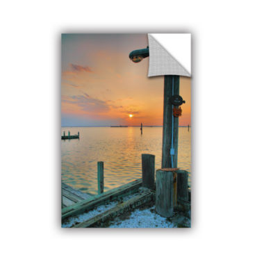 Brushstone Sunset Bay II Removable Wall Decal