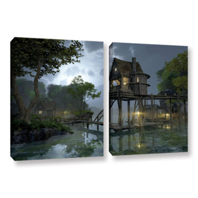 Brushstone Stillwater 2-pc. Gallery Wrapped CanvasWall Art