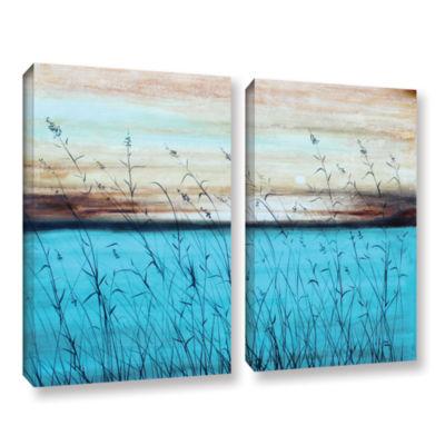 Brushstone Dawn 2-pc. Gallery Wrapped Canvas WallArt