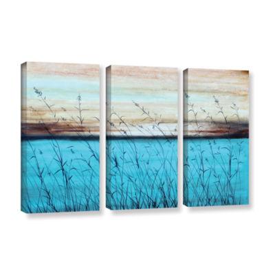 Brushstone Dawn 3-pc. Gallery Wrapped Canvas WallArt