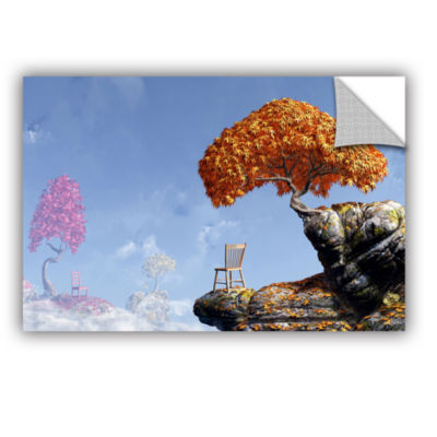 Brushstone Leaf Peepers Removable Wall Decal
