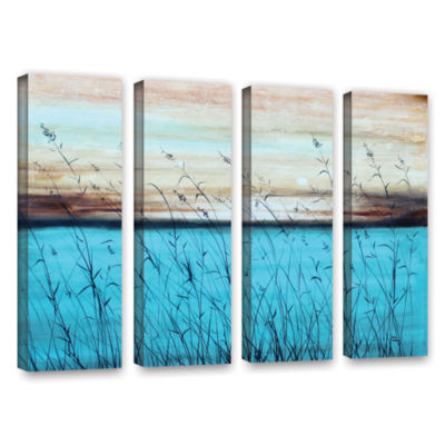 Brushstone Dawn 4-pc. Gallery Wrapped Canvas WallArt