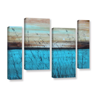 Brushstone Dawn 4-pc. Gallery Wrapped Staggered Canvas Wall Art