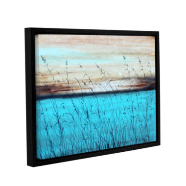 Brushstone Dawn Gallery Wrapped Floater-Framed Canvas Wall Art