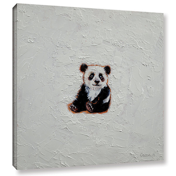 Brushstone Little Panda Gallery Wrapped Canvas Wall Art
