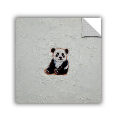 Brushstone Little Panda Removable Wall Decal