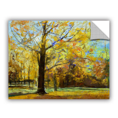 Brushstone Shades of Autumn Removable Wall Decal