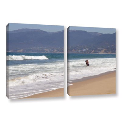 Brushstone Alone Together 2-pc. Gallery Wrapped Canvas Wall Art