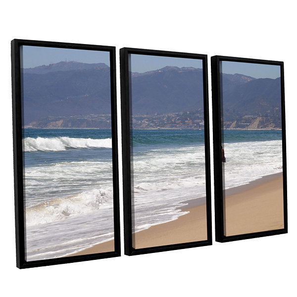 Brushstone Alone Together 3-pc. Floater Framed Canvas Wall Art