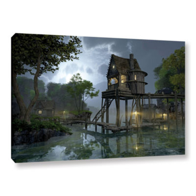 Brushstone Stillwater Gallery Wrapped Canvas WallArt