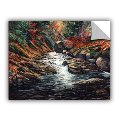 Brushstone Autumn Brook Removable Wall Decal