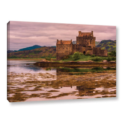Brushstone Eilean Donan Castle Gallery Wrapped Canvas Wall Art