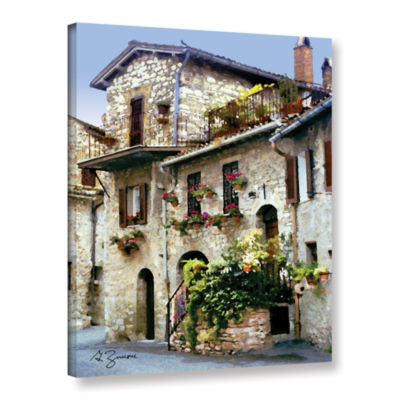 Brushstone Assisi Italy Gallery Wrapped Canvas Wall Art