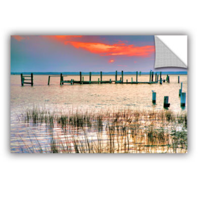 Brushstone Sunset Bay III Removable Wall Decal