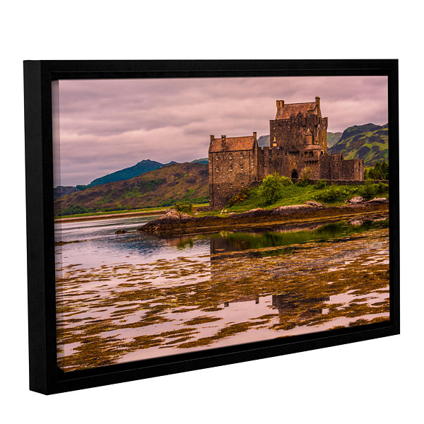 Brushstone Eilean Donan Castle Gallery Wrapped Floater-Framed Canvas Wall Art