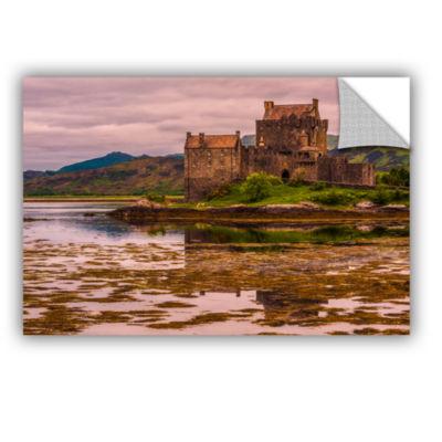 Brushstone Eilean Donan Castle Removable Wall Decal
