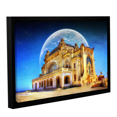 Brushstone Astral Casino Gallery Wrapped Framed Canvas Wall Art