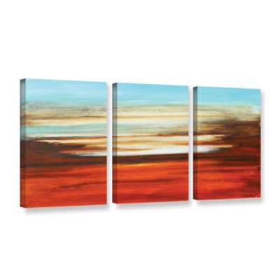 Brushstone Falling in Reverse 3-pc. Gallery Wrapped Canvas Wall Art
