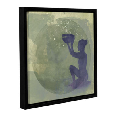 Brushstone Astral Goddess Gallery Wrapped Floater-Framed Canvas Wall Art