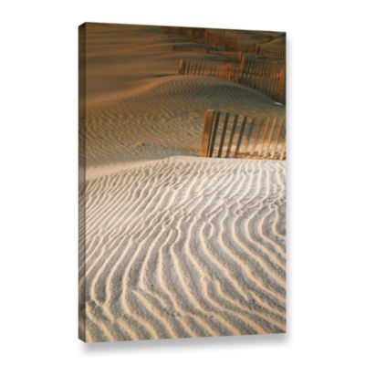 Brushstone Hatteras Dunes Gallery Wrapped Canvas Wall Art