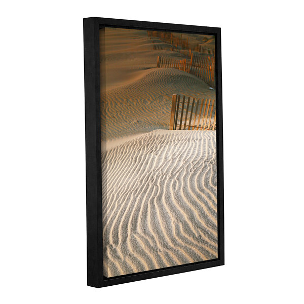 Brushstone Hatteras Dunes Gallery Wrapped Floater-Framed Canvas Wall Art