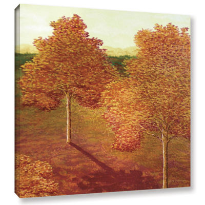 Brushstone Amber Solace Gallery Wrapped Canvas Wall Art