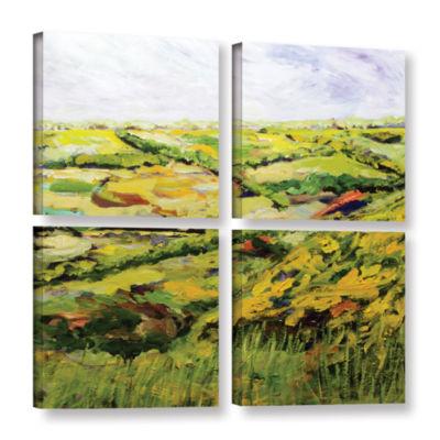 Brushstone Ambleside 4-pc. Gallery Wrapped CanvasSquare