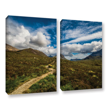 Brushstone Heart Of The Mountains 2-pc. Gallery Wrapped Canvas Wall Art