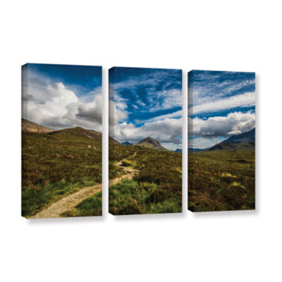 Brushstone Heart Of The Mountains 3-pc. Gallery Wrapped Canvas Wall Art
