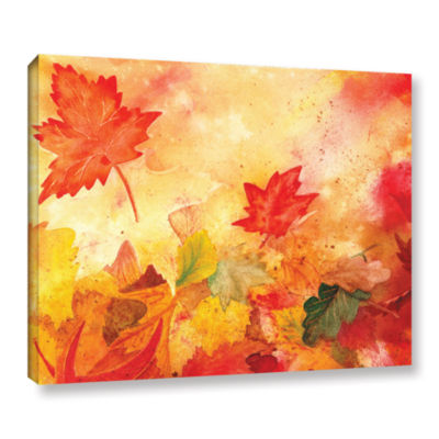 Brushstone Autumn Dance Gallery Wrapped Canvas Wall Art