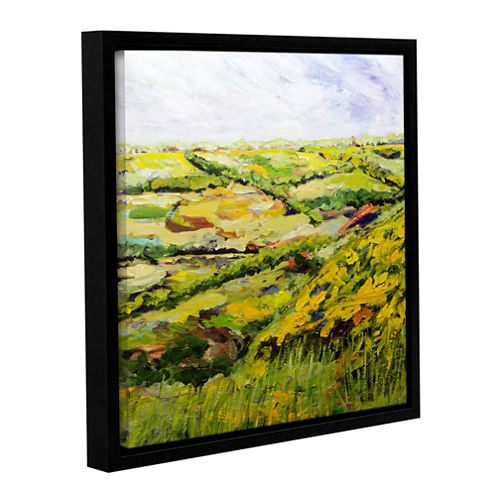 Brushstone Ambleside Gallery Wrapped Floater-Framed Canvas Wall Art