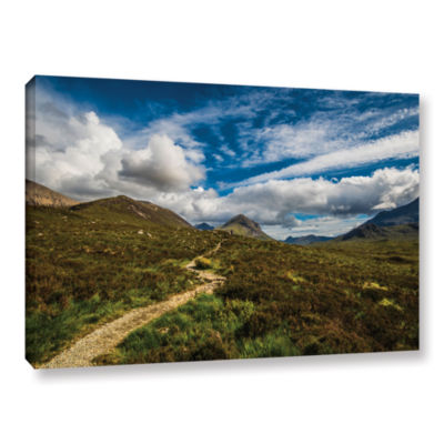 Brushstone Heart Of The Mountains Gallery WrappedCanvas Wall Art