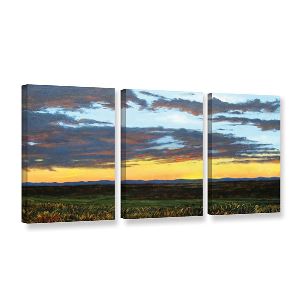 Brushstone American Dream 3-pc. Gallery Wrapped Canvas Wall Art