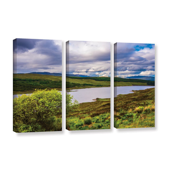 Brushstone A Highland Jewel 3-pc. Gallery WrappedCanvas Wall Art
