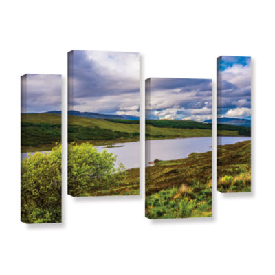 Brushstone A Highland Jewel 4-pc. Gallery WrappedStaggered Canvas Wall Art