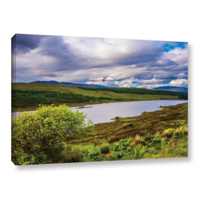 Brushstone A Highland Jewel Gallery Wrapped CanvasWall Art