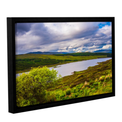 Brushstone A Highland Jewel Gallery Wrapped Floater-Framed Canvas Wall Art