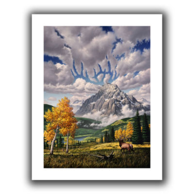 Brushstone Autumn Echos Canvas Wall Art