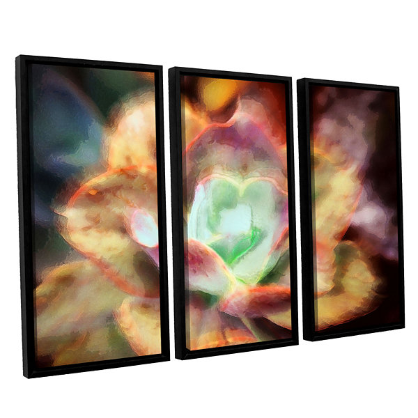 Brushstone Anapo Dawn 3-pc. Floater Framed CanvasWall Art