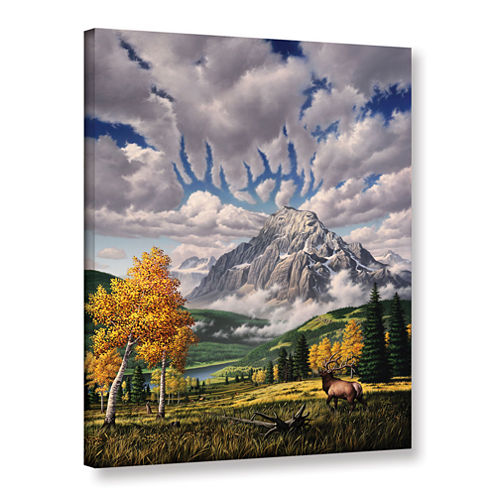 Brushstone Autumn Echos Gallery Wrapped Canvas Wall Art