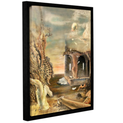 Brushstone Astral Realm Gallery Wrapped Floater-Framed Canvas Wall Art