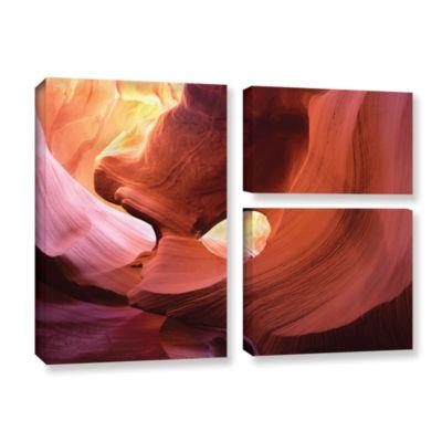 Brushstone Antelope Window 3-pc. Gallery Wrapped Canvas Wall Art