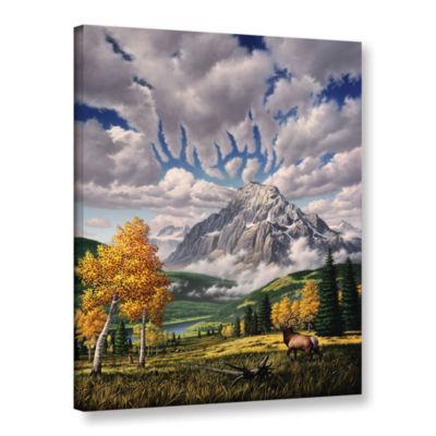 Brushstone Autumn Echos Gallery Wrapped Canvas Wall Art