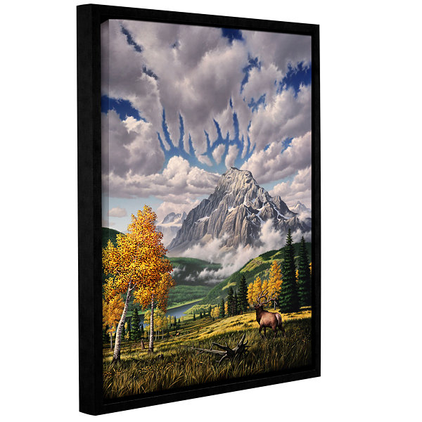 Brushstone Autumn Echos Gallery Wrapped Framed Canvas Wall Art