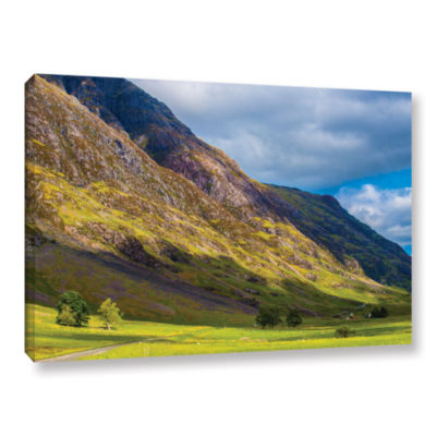 Brushstone Highland Hillside Gallery Wrapped Canvas Wall Art